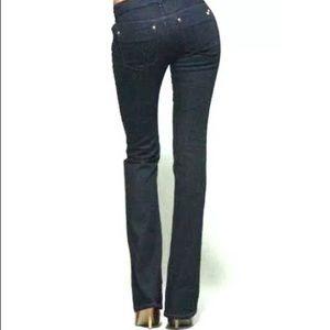 Joe's jeans size 27 flared NWT dark blue